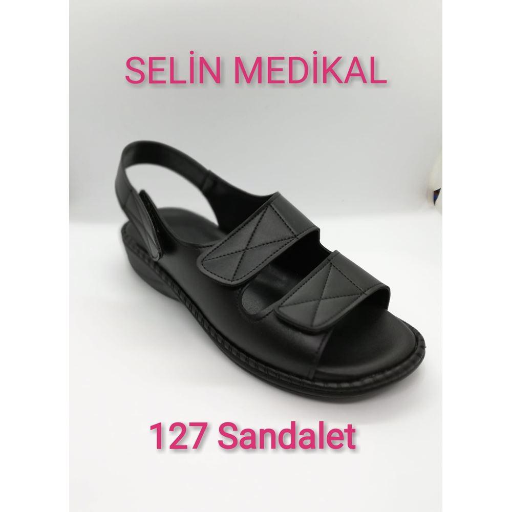127 SİYAH SANDALET
