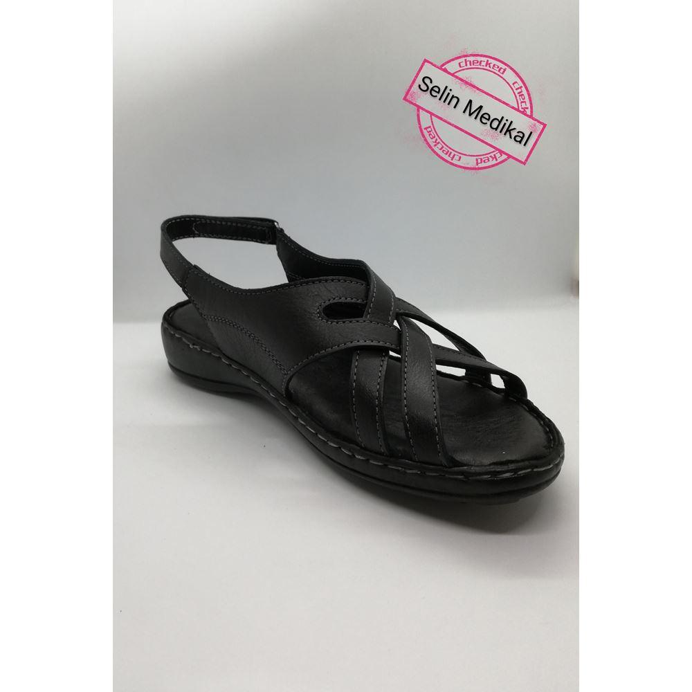 072  Hakiki Deri Sandalet