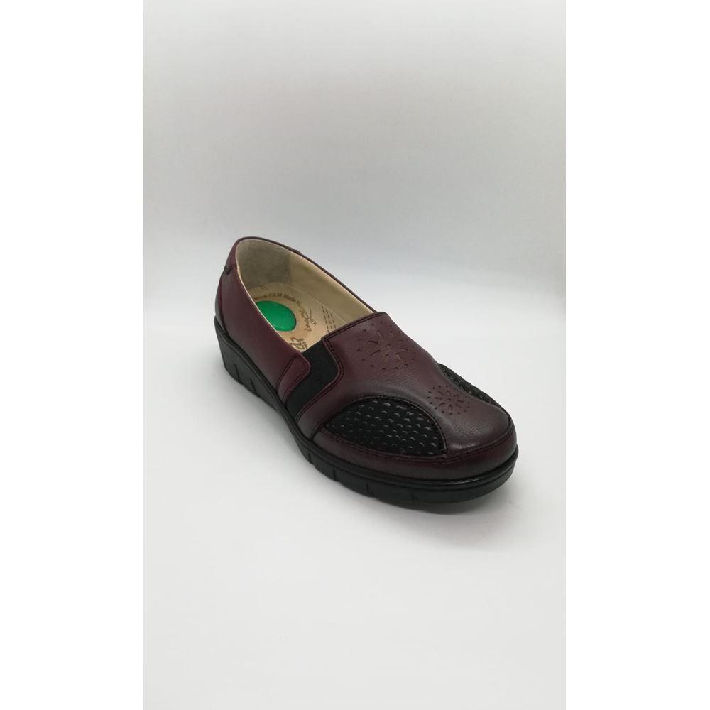 302 BORDO Hakiki Deri Halluks Valgus ve Topuk Dikeni Özellikli Diyabetik Ayakkabı