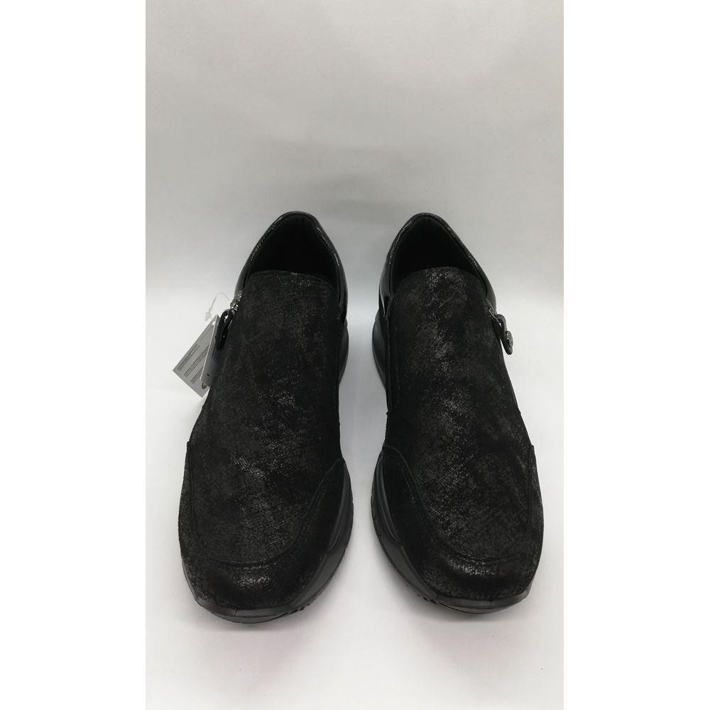 163282 IMAC ITALY BLACK SUET COMFORT