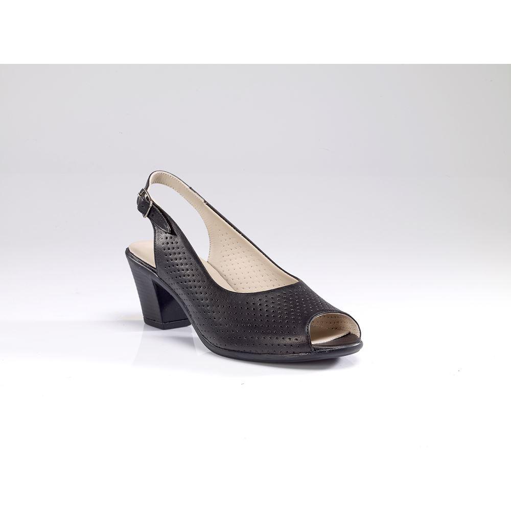 KINS SİYAH  Yazlık Ayakkabı